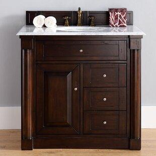 New Haven 36 Single Bathroom Vanity Base by James Martin Furniture