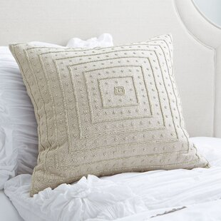 Donalsonville Beaded Pillow Cover