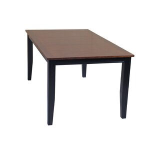TTP Furnish Aden Extendable Solid Wood Di..