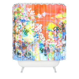 Coral Delight Single Shower Curtain