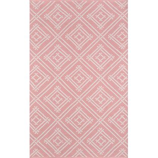Madcap Cottage by Momeni Palm Beach Pink Area Indoor/Outdoor Rug 2' X 3