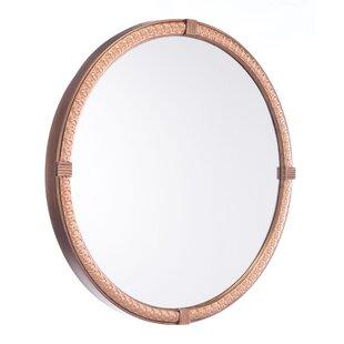 Astoria Grand Waterhouse Circle Accent Mirror