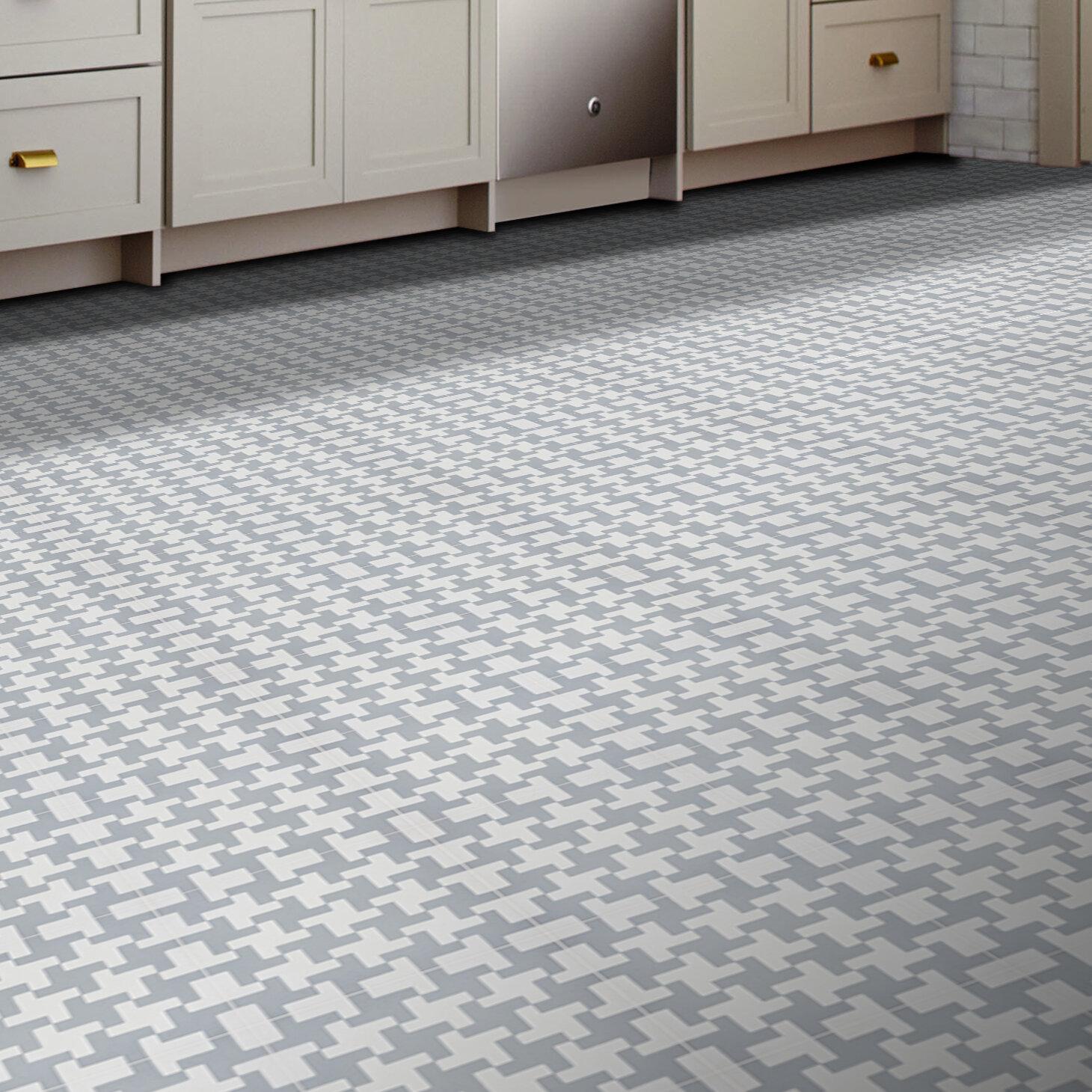 Moroccan Mosaic Tile House Souss 8 X 8 Cement Field Tile Wayfair