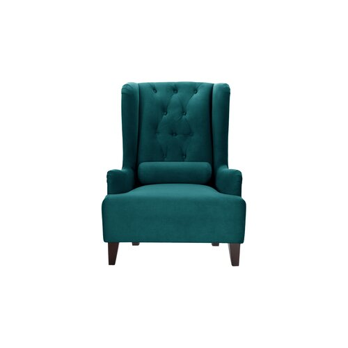 Goggans Wingback Chair Ophelia and Co. Upholstery Colour: