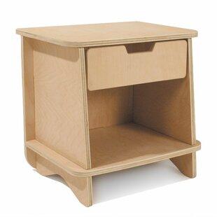 Ossett 1 Drawer Nightstand by Harriet Bee