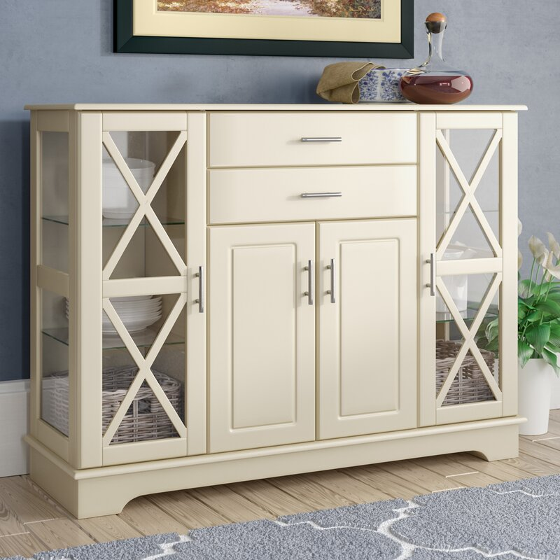 Legere 47.25 Wide 2 Drawer Server by Andover Mills™