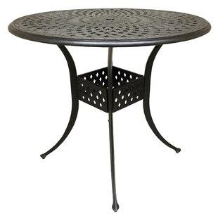 Fleur De Lis Living Campion Cast Aluminum Bar Table