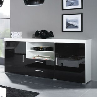 Fabiola High Gloss Sideboard Orren Ellis