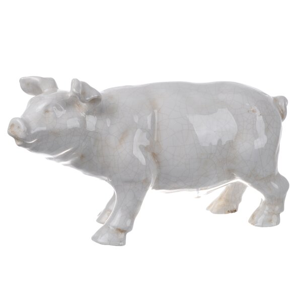 Ceramic Pigs Ivory Wayfair