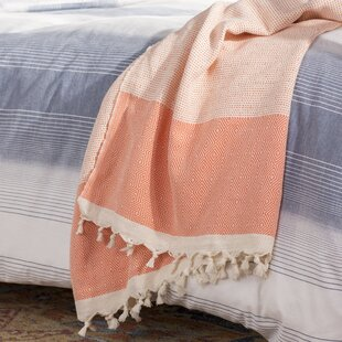 Aldo Turkish Cotton Throw Blanket