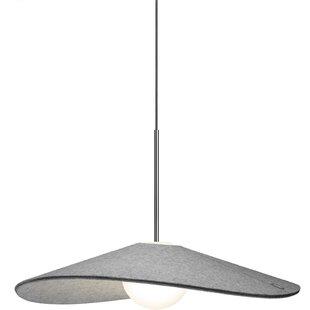 Pablo Designs Bola Felt LED Cone Pendant