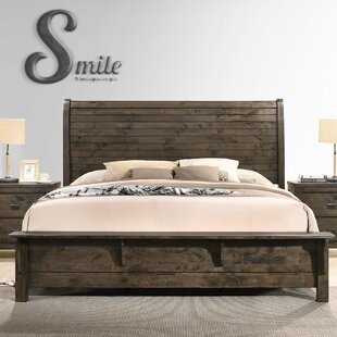 Shockley Sleigh Bed by Union Rustic