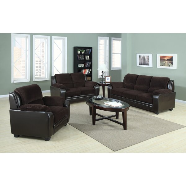 Container 3 Piece Living Room Set & Reviews | Wayfair