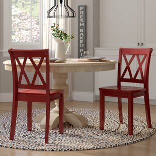 Compare prices Fuqua Dining Chair (Set of 2) by August Grove