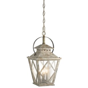 Clarksburg 4-Light Pendant by Rosecliff Heights