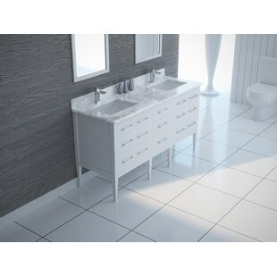 Eilis 61 Double Bathroom Vanity Set By Latitude Run