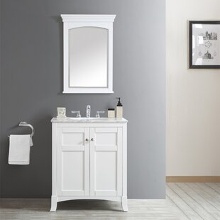 Manningtree 30 inch  Single Vanity Set with Mirror