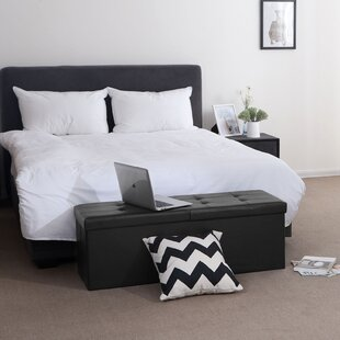 Grace Bay Storage Ottoman by W..