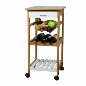 Natural Kitchen Cart by The Urban Port Sale