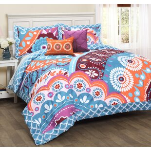 Belina 5 Piece Reversible Comforter Set