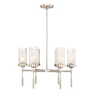 Brayden Studio Herrod 6-Light Shaded Chandelier