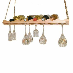 8 Bottle Hanging Wine Rack by Wineracks.com