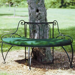 Alderson Wrought Iron Tree Bench