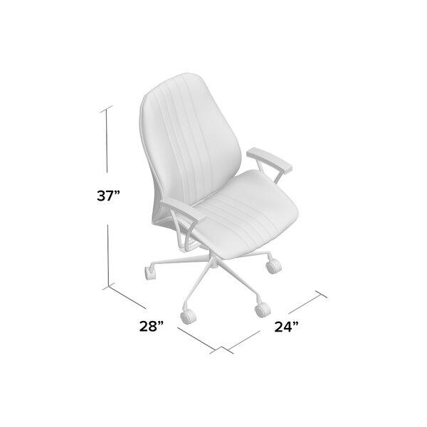 Leonardo Genuine Leather Task Chair