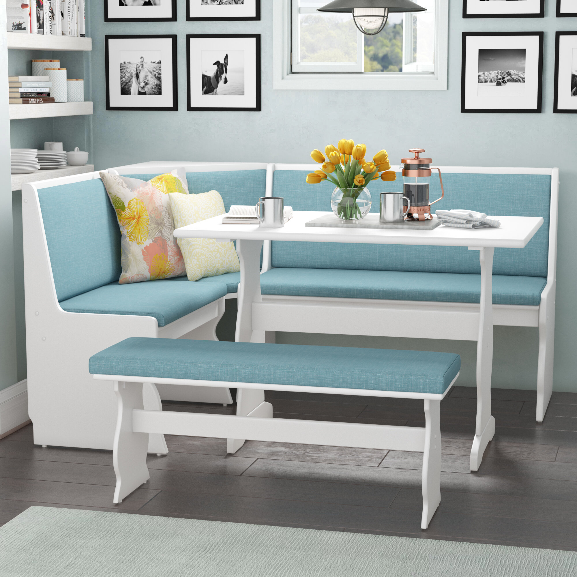 Bench Breakfast Nook Kitchen Dining Room Sets You Ll Love In
