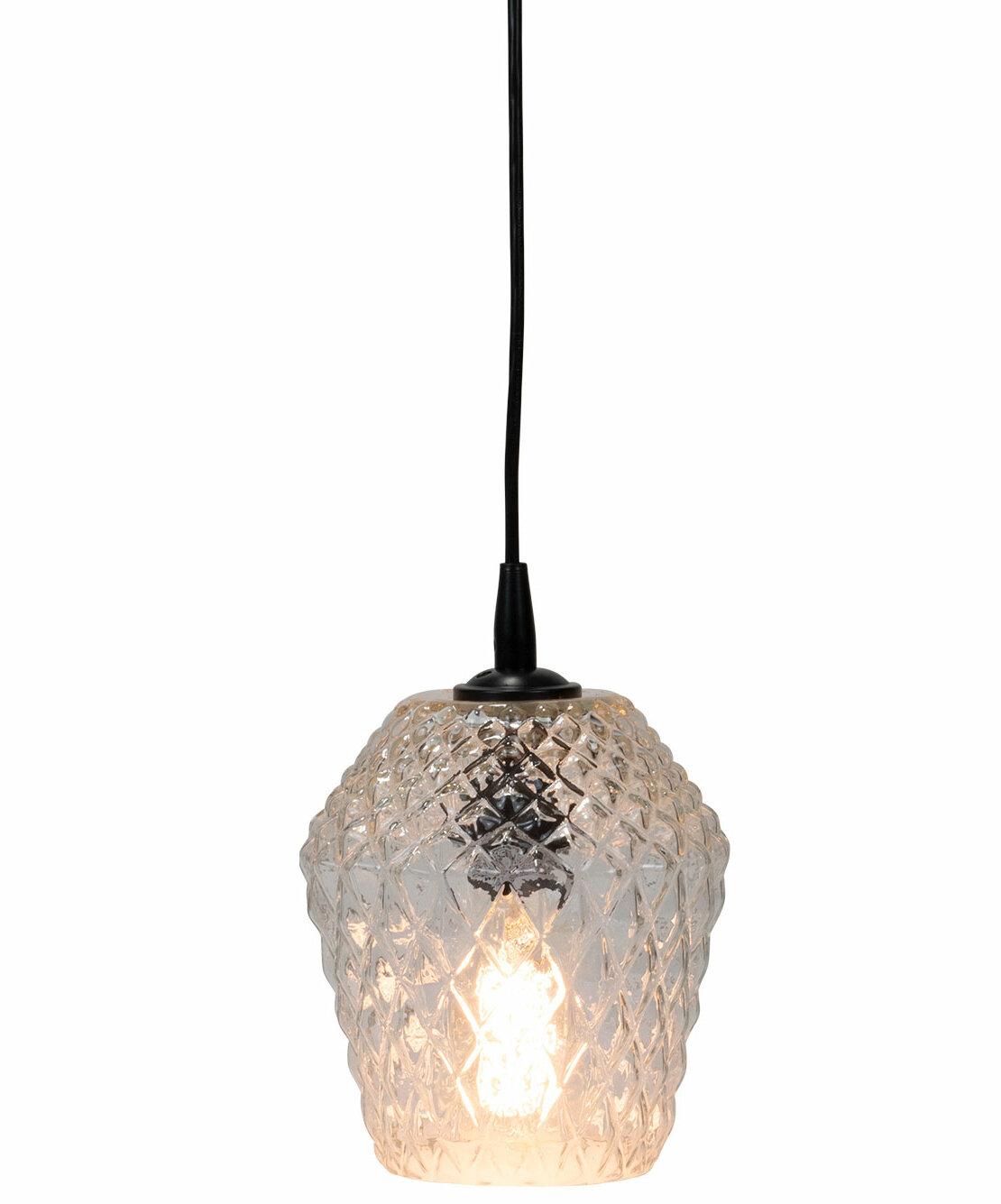 House Of Hampton Reena Diamond 1 Light Single Geometric Pendant Wayfair