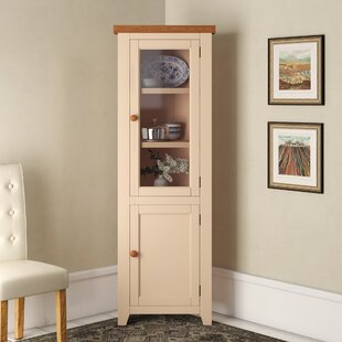 Corner Display Cabinet By August Grove