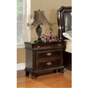 Yerkes 2 Drawer Nightstand