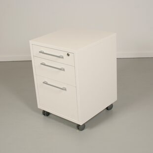 Latitude Run Murphree 3-Drawer Mobile File