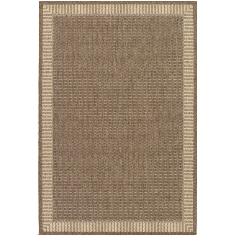 Andover Mills Zachary Wicker Stitch Handwoven Flatweave