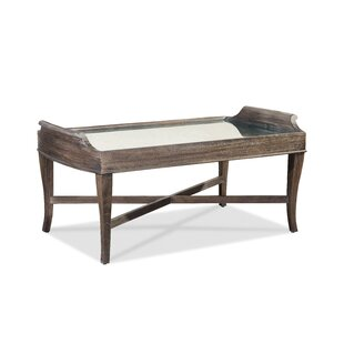 Pond Brook Coffee Table with Tray Top by Darby Home Co