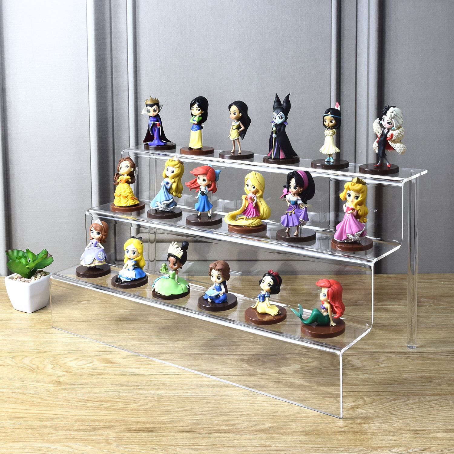 LEGO ® MINI FIGURE COLLECTOR DISPLAY CASE Stackable Freestanding Hanging Storage