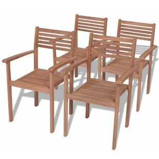 Stacking Garden Chair (Set Of 4) Image