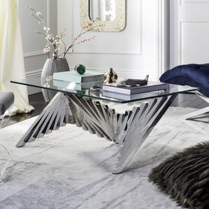 Brayden Studio Fernald Metal Coffee Table Image