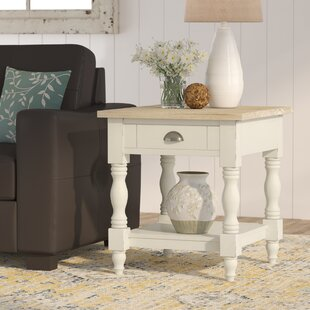 Abby Ann End Table With Storage