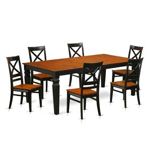 Beesley 7 Piece Rectangular Dining Set DarHome Co