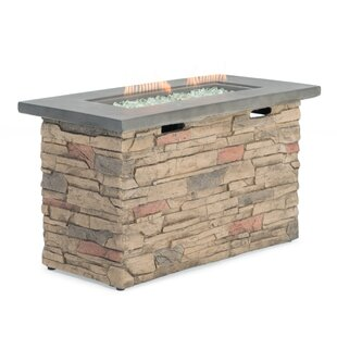 Sage Stone Propane Fire Pit Table by Sego Lily Spacial Price