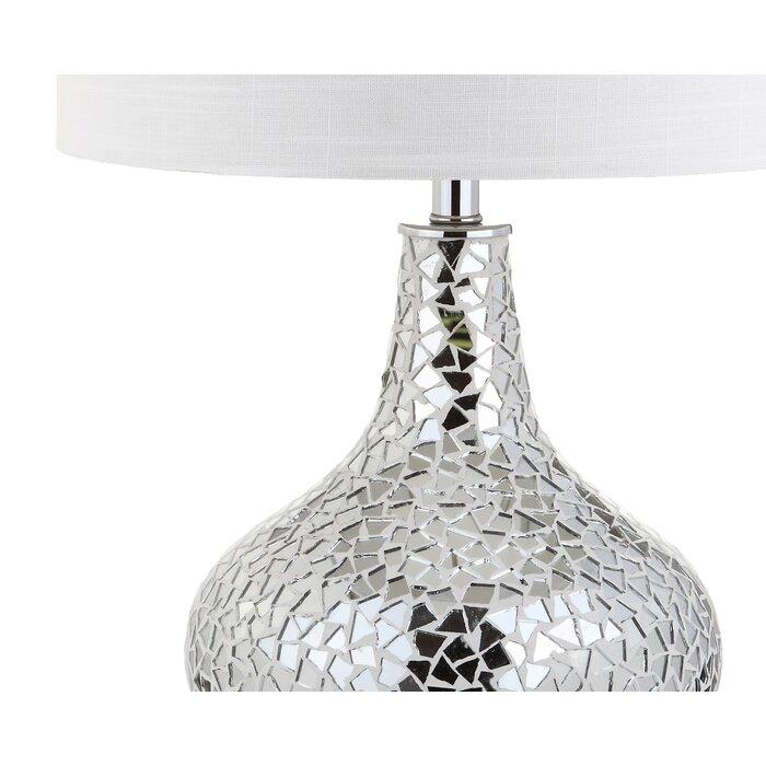Landreth Mirrored Mosaic 26 Table Lamp
