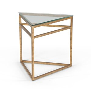 Hudak Triangular End Table