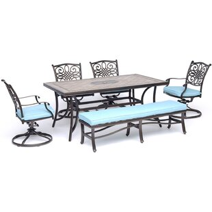 Bucci 6 Piece Dining Set
