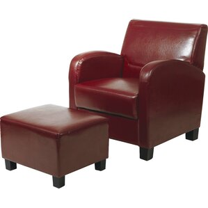 Red Barrel Studio Chesterhill Armchair and Ottoman