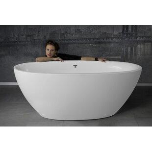 free standing jetted soaking tub. Sensuality 66 5  X 33 Freestanding Soaking Bathtub Two Person Tub Wayfair