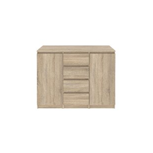 Zipcode Design Kepner 4 Drawer and 2 Door Armoire