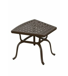 Garden Terrace Cast Aluminum Side Table