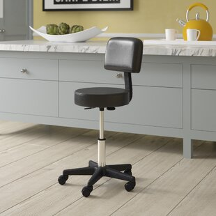 Height Adjustable Swivel Bar Stool By Symple Stuff