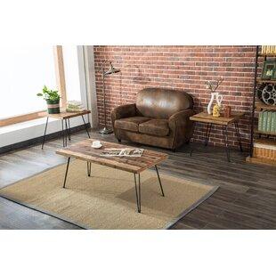 Brayden Studio Stuber Living Room 3 Piece Coffee Table Set